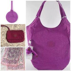 Kipling Violet bundle - Lot of 4
